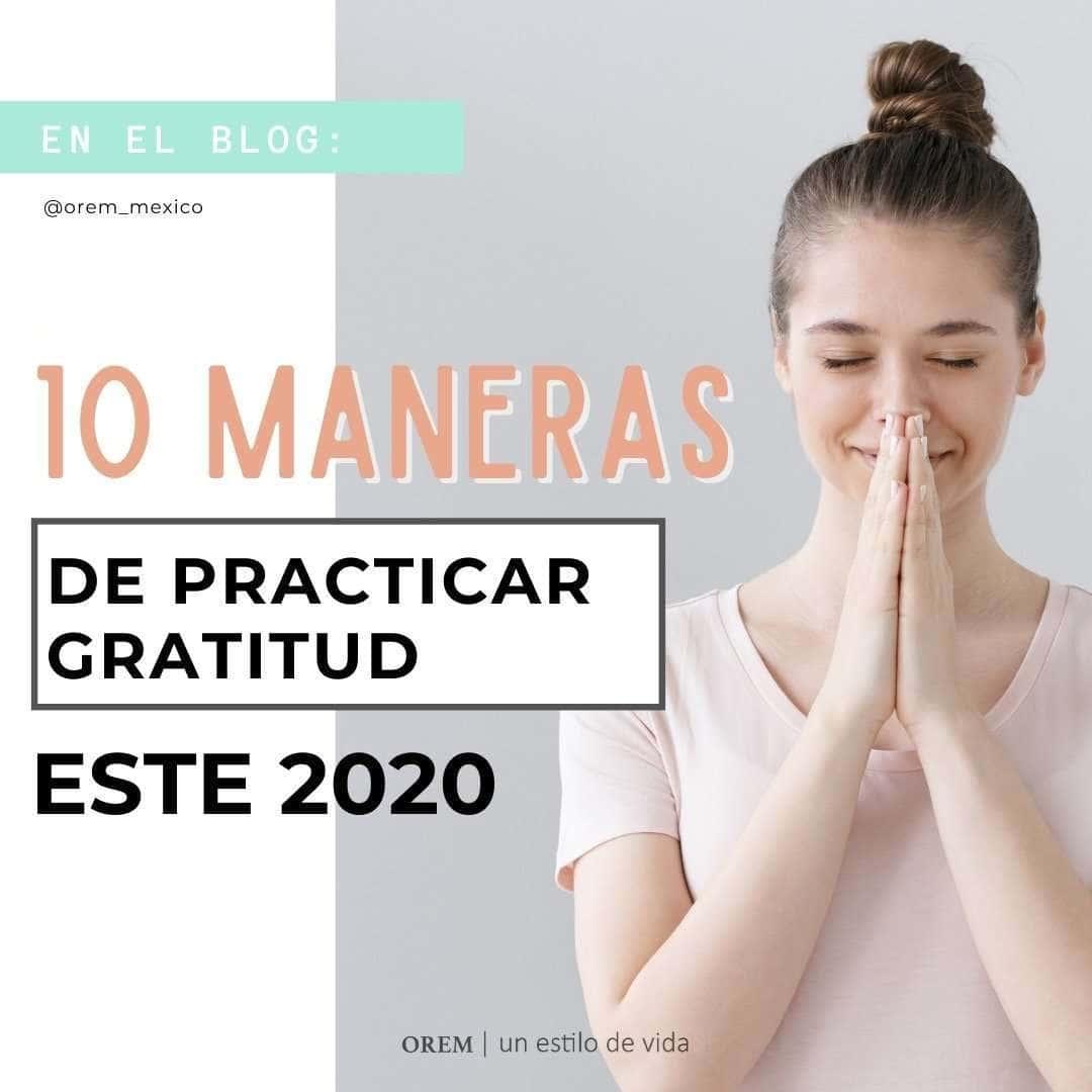 Prácticas de gratitud