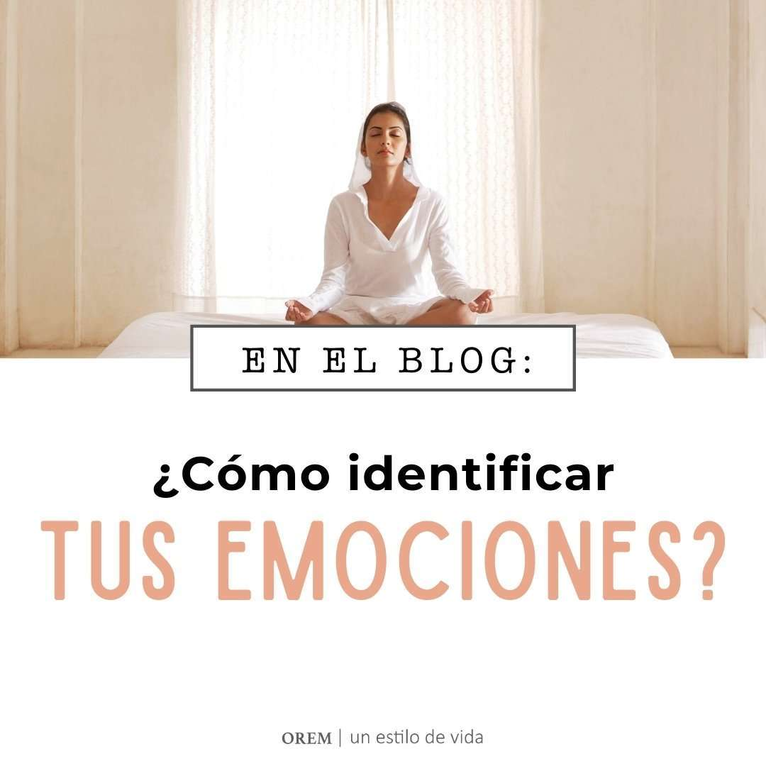 ¿Cómo identificar tus emociones?