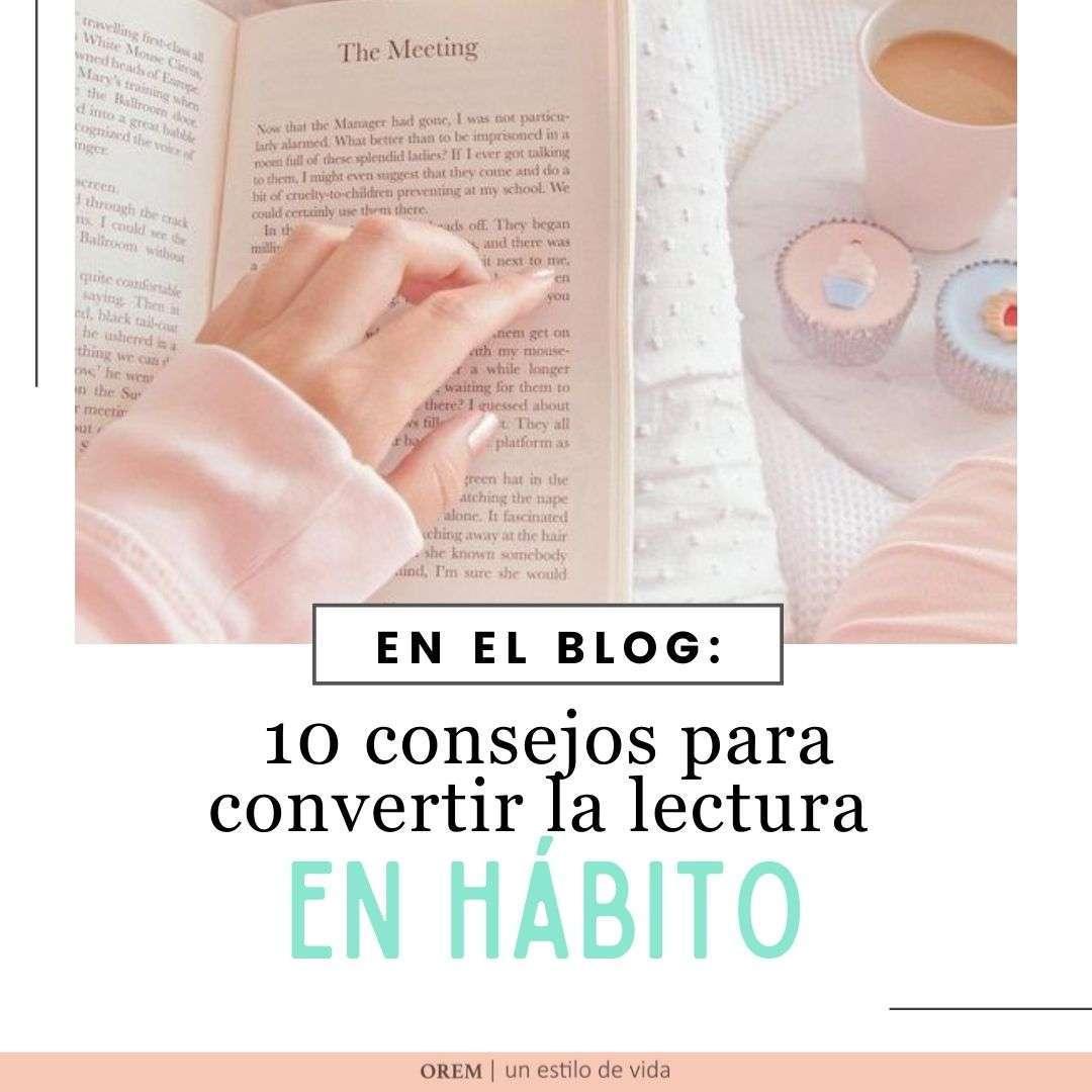 hábito de lectura